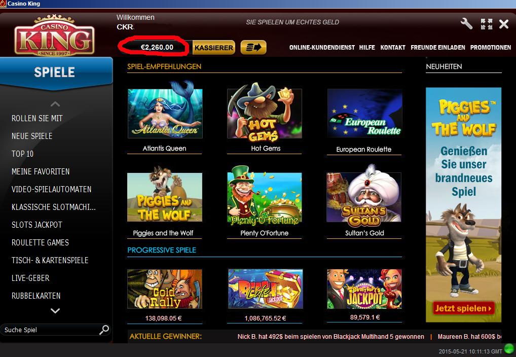 geld verdienen online casino rainbow king