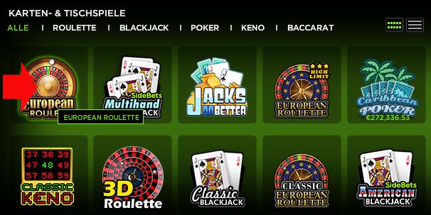 Online roulette hohes tischlimit