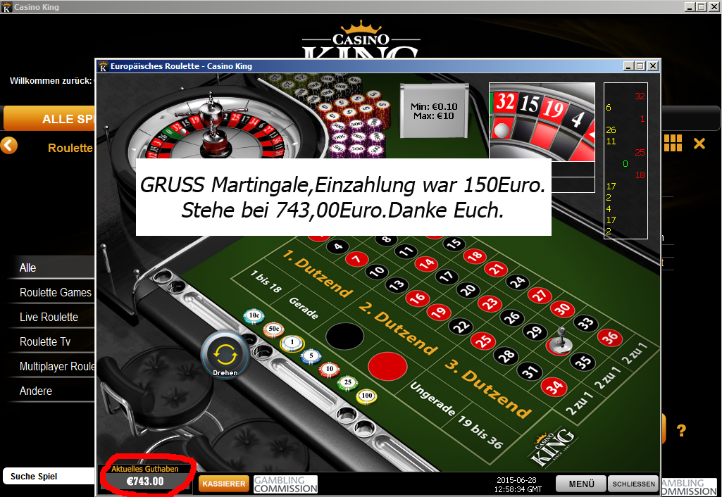 martingale betting system online casino