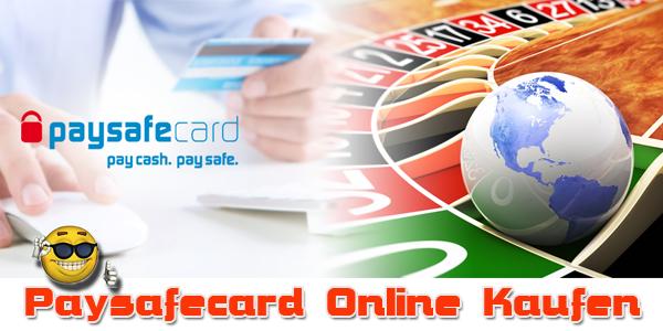paysafecard online kaufen